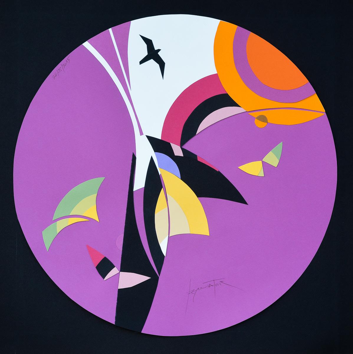Jean Latour artiste graphiste